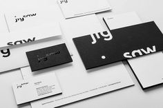 Jigsaw (une boite de prod de films documentaires) par Pentagram.