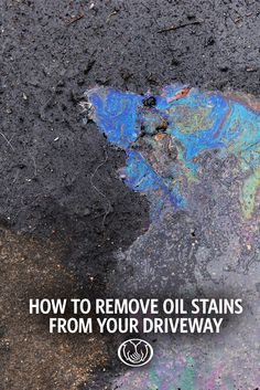 clean garage floors - remove oil stains from concrete | remove oil