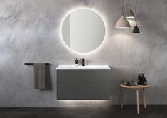 INR AIR baderomsinnredning i naturlig harmoni Bathroom Shelf Decor, Rustic Bathroom Shelves, Bathroom Vanity Cabinets, Bathroom Inspo, Bathroom Furniture, Guest Bathroom Remodel, Guest Bathrooms, Rustic Bathrooms, Modern Bathroom