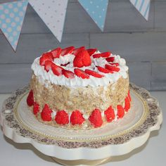 strawberry soap cake made to order by Dleesnow on Etsy, $75.00