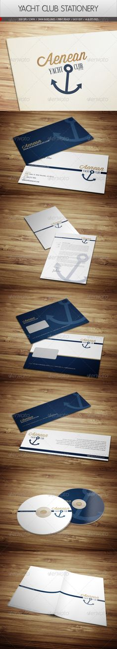 Yacht Club Corporate Identity