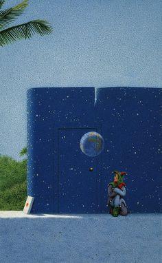 Quint Buchholz - Ohne Titel (Maya II.) - Untitled (Maya II.) - 2000