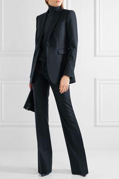 Joseph   Rocker Super 100 wool-twill straight-leg pants   NET-A-PORTER.COM