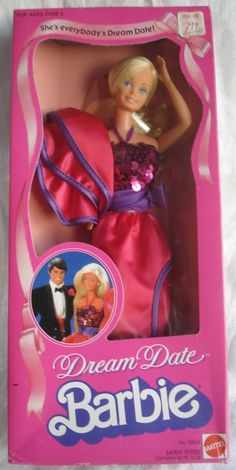 Dream Date Barbie!  Barbie's in the early 80s were fancy.   I got this Barbie for my 6th Birthday! I loved it