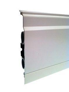 ThermaSkirt Cricket White Skirting Radiator 5m x 150mm