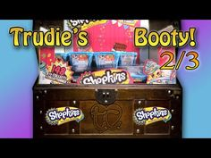 Another SHOPKINS Season 1 Haul! Trudie's Booty! Part 2 of 3! - YouTube
