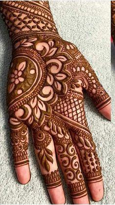 Palm Mehndi Design, Full Hand Mehndi Designs, Indian Mehndi Designs, Henna Art Designs, Mehndi Designs For Girls, Stylish Mehndi Designs, Mehndi Designs For Beginners, Mehndi Design Photos, Wedding Mehndi Designs