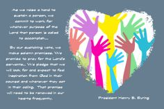 """I created a handout for the week """"What does it mean to sustain my church leaders"""" Feel free to use!"""