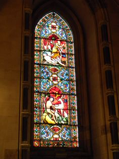Stained Glass inside Christ Church Cathedral Dublin