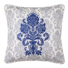 ポーエガ クッションカバー ブルー(ブルー) Francfranc(フランフラン)公式サイト 家具、インテリア雑貨、通販