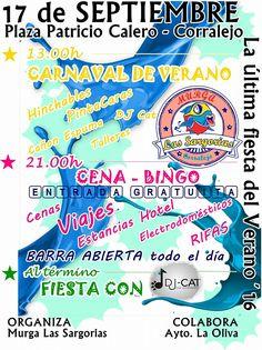Grupo Mascarada Carnaval: Carnaval de Verano y cena-bingo con Las Sargorias