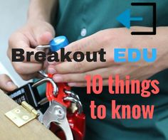 """Breakout EDU is """"aplatform for immersive learning games""""  Breakout EDU is highly engaging for all ages In Breakout EDU, participants work together to find and solve clues around the room to open each of the locks. As soon as students see the locked box, they are immediately driven by the challenge to get it …"""
