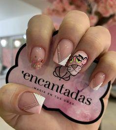 Nail Spa, Nail Manicure, Manicures, Donut Coloring Page, Semi Permanente, Magic Nails, Art Disney, Nail Art Videos, Disney Nails
