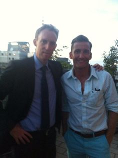 14h Myself and new CEO of @GOAL_USA Barry Andrews at the Irish Consulate tonight