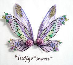 OOAK Fairy Pixie Fantasy Art Doll Wings ADSG by IndigoMoonWings, $10.00
