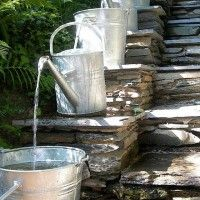 How To Make A Contemporary Garden Water Feature For Less Than $30