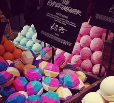 LUSH Cosmetics London Oxford Street Exclusives
