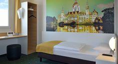 Barrierefreies Zimmer im B&B Hotel Hannover