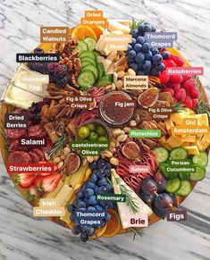 52 super ideas for fruit party platters antipasto Charcuterie And Cheese Board, Charcuterie Platter, Antipasto Platter, Cheese Boards, Meat Platter, Meat Cheese Platters, Charcuterie Ideas, Cheese Table, Snack Platter