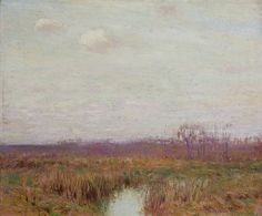 """Harmony,"" Bruce Crane, oil on canvas, 25 1/16 x 30 1/8"", Questroyal Fine Art."