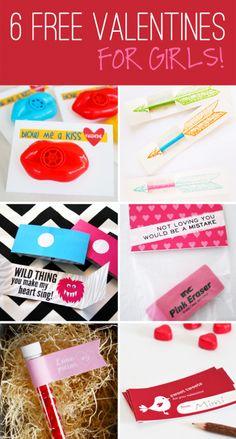 Class Valentines printables