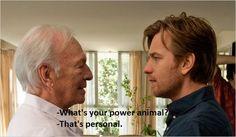 "Christopher Plummer - Ewan McGregor, ""Beginners"""