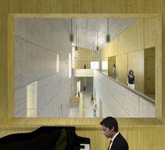22_render interior zona comuna aula piano