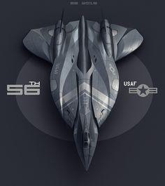 high speed bomber concept, Encho Enchev on ArtStation at https://www.artstation.com/artwork/8vJrR
