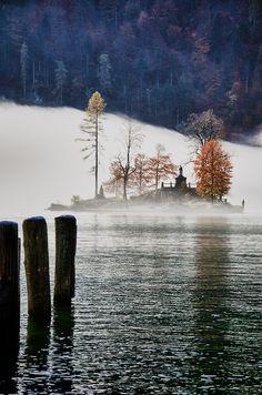 Königsee Lake Berchtesgadener Land Bavaria Germany