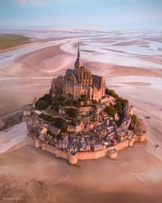 """A magical morning at Mont-Saint Michel, France. Hard to believe this is a real place sometimes. I… – rotiferous-requests Mont Saint Michel France, Le Mont St Michel, Wonderful Places, Beautiful Places, Places To Travel, Places To Go, We Heart It, Normandy France, Belle Villa"