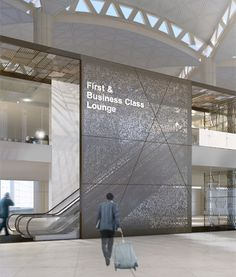 King Khaled International Airport First and Business lounges by Woods Bagot