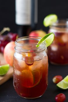 This sweet and summery Rosé Sangria is a great and versatile summer drink for all your summer parties!