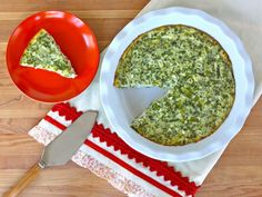 Crustless Quiche with Feta & Asparagus - Gluten Free Recipe