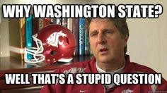 Why Mike Leach? Well that's a stupid question.