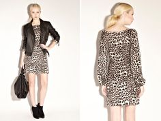 leopard. leather. suede. <3