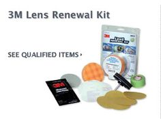 $10 Cash Rebate - 3M Lens Renewal Kit    FREE CASH on Auto Parts