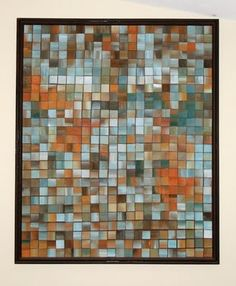 paper mosaic artwork