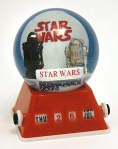 Star Wars snow globe / snow dome