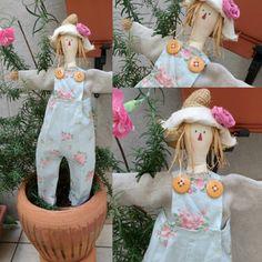 Espantalho Tilda  Um encanto para seu jardim! 💮🌻🌼 #aceitoencomenda
