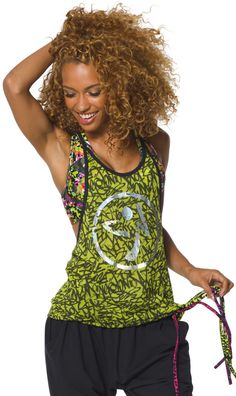 Funked Up Burnout Tank | Zumba Wear Save 10% on Zumba® wear on zumba.com. Click to shop with 10% discount https://www.zumba.com/en-US/store/US/affiliate?affil=10sale