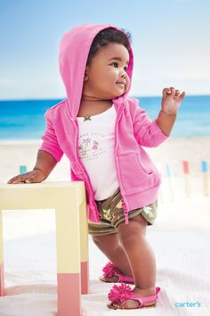 Smart: get multiple pieces at one great price. Speedy: less time shopping, more time playing! Simple: so easy to dress, new mom, every mom (even grandmom) won't miss a beat. Carters Baby Girl, My Baby Girl, Baby Love, Cute Kids, Cute Babies, Baby Kids, Beautiful Children, Beautiful Babies, Little Girl Fashion