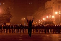"""On 25 January 2011, known as the """"Day of Anger"""" or the """"Day of Revolt"""", protests took place in cities across Egypt, including Cairo, Alexandria, Suez and Ismaïlia."""