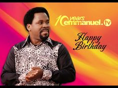 This is the story of your baby - Emmanuel TV! Emmanuel Tv, Tv Happy, Happy 10th Birthday