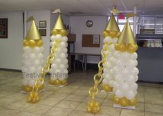 Royal Baby Shower using Balloons - Mad About Balloons