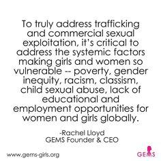 Human trafficking feminism