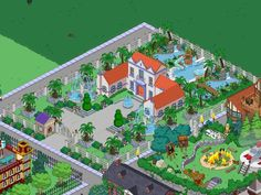 What have you done with the Rancho Relaxo? Simpsons Springfield, Springfield Tapped Out, Springfield Heights, The Simpsons Game, What Have You Done, Flower Doodles, Electronic Art, Layout Inspiration, Galaxy Wallpaper