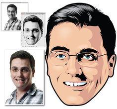 10 Outstanding Vector Portrait Tutorials Using Adobe Illustrator