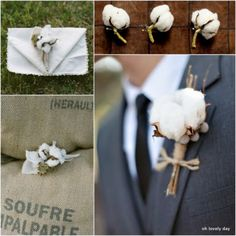 Vintage-Inspired Wedding Ideas: Cotton Blooms | OneWed