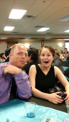 At wedding reception great fun
