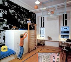fantastic room from 1978 book on childrens rooms. It's NOT cool : http://j.mp/lilabitfun